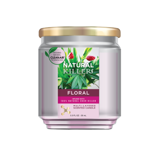 Natural Killer Candle Floral-01