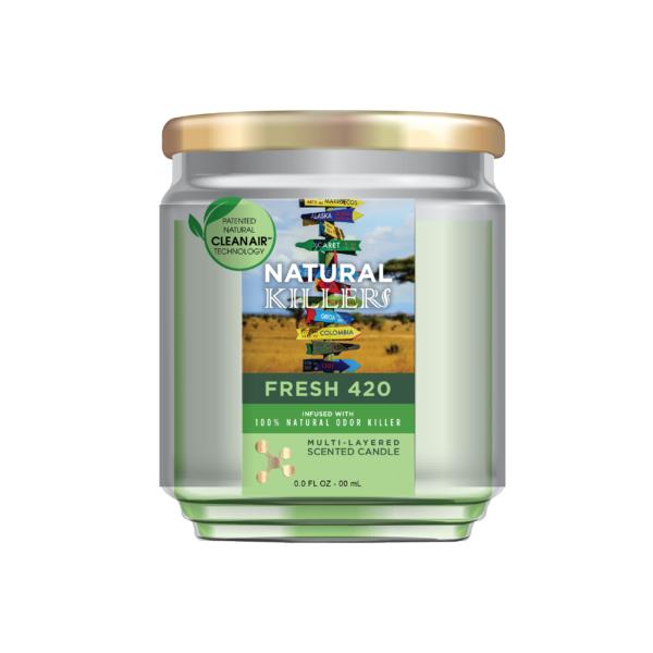 Natural Killer Candle Fresh 420-01-01