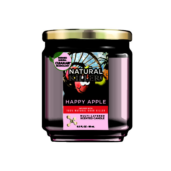 Natural Killer Candle Happy Apple-01