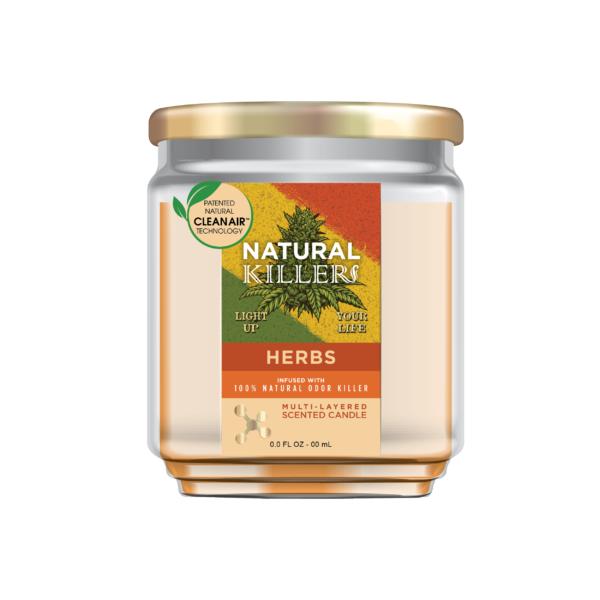 Natural Killer Candle Herbs-01