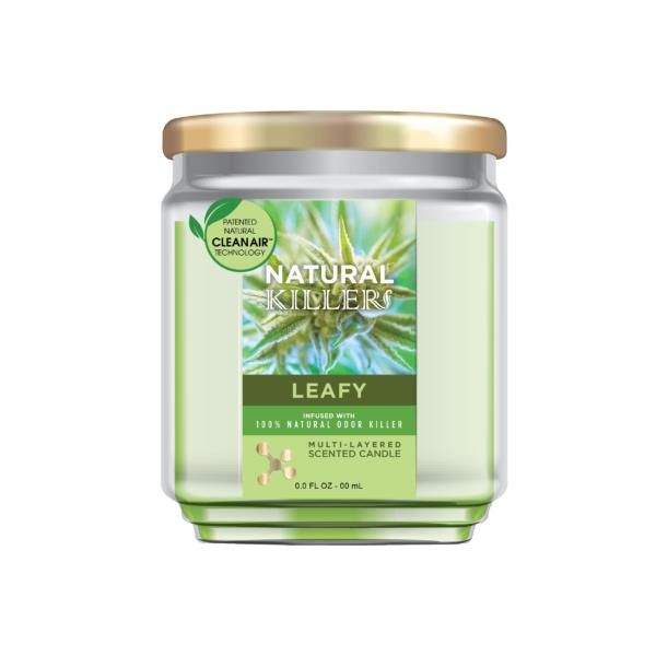 Natural Killer Candle Leafy-01